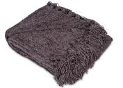 Internet's Best Thick Chenille Throw Blankets | Ultra Soft Couch Blanket with Fringe | Light Weight Sofa Throw | 100% Microfiber Polyester | Easy Travel | Bed