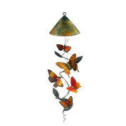 Sunblossom Solar Gifts LLC Butterfly Mobile Solar Wind Chime