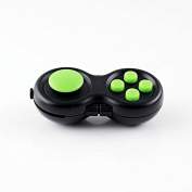 Official Stress Cube (5 colours) by TheStressCube.com - A Fidget Toy For Adults And Children With Anxiety, Stress, ADD & ADHD (Splintercell Fidget Pad