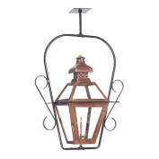 August Grove Lorrain 1-Light Outdoor Semi Flush Mount