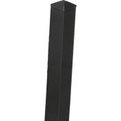 Aluminium Post, 1.8m Black, 1-1/2 x 0.5m x 1.8m
