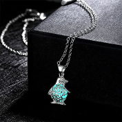 Scrox Necklace Hollow Moon Cute Owl Nights Necklace Jewellery accessories for Women Girls