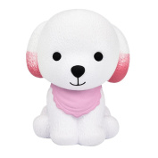 Kids Squeeze Toys,Internet Jumbo Squishy Cute Puppy Scented Cream Slow Rising Squeeze Decompression Toys