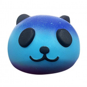 Kids Stress Reliever Toy,Internet Decompression Toys Starry Cute 10cm Panda Baby Cream Scented Squishy Slow Rising Squeeze Kids Toy (Size