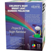 RAINBOW LED NIGHT LIGHT PROJECTOR LAMP CHILDRENS BEDROOM NURSERY BATTERY & USB