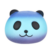 Squishies Galaxy Panda - Starry Cute Panda Head Baby Cream Scented Squishy Slow Rising Squeeze Kids Toy For Autism ADHD, ADD, OCD