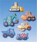 KNORR prandell Excavators and Trucks Moulds, Transparent
