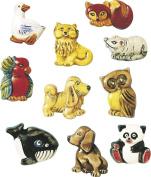 KNORR prandell Animal Brooches Moulds, Transparent