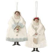 Tilda Vintage Santas Material Kit, Multi-Colour