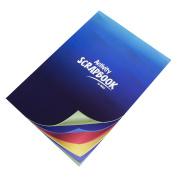 A4 Scrapbook 32 Colour Page Blank Plain Sketch Book Art Craft Card Paper Pad