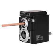 Sipliv Retro Camera Manual Pencil Sharpener Hand-Cranking Pencil Sharpener for Students School, Home, Office, Studio