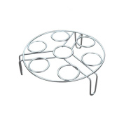 QSEVEN S.S Kitchen Triangle Steamed Egg Rack/Kitchen Tools Anti-hot Insulation Rack