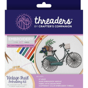 Crafter's Companion Threaders Embroidery Craft Gift Kit - Vintage Trail
