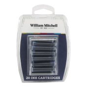 William Mitchell Universal Assorted Colour Calligraphy Ink Cartridges