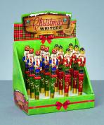 Nutcracker Designed Christmas Pen - Blue - Stocking Fillers