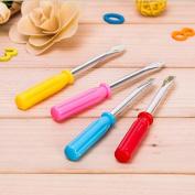 DaoRier 4Psc Screwdriver Shape Ball Pen Cute Pen Stationery for School Office