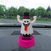 Car Decor, Toamen Solar Powered Dancing Halloween Swinging Animated Bobble Dancer Toy Car Decor