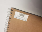 A3 Sketch Pad. Recycled 160gsm Cartridge Paper with Natural Board Cover. 70 Sides