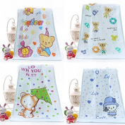 Hongch Baby Flower-Printed Face towel Bath Bathroom Shower Wash Tool Washing Face Adult Children 25X50cm