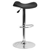 Vogue Furniture Direct Adjustable Height Barstool, Black VF1581017