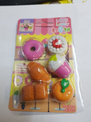 New Fancy Design and Different Eraser Shape Rubbers for School Cute Kids