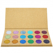 SMILEQ Shimmer Glitter 18 Colours Eye Shadow Makeup Cosmetic Shimmer Matte Eyeshadow Palette
