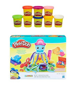 Play-Doh Cranky the Octopus + Play-Doh Rainbow Starter Pack Bundle