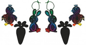 Easter Party Favours -Magic Colour Scratch Art Easter Ornaments - 72 pc class pack