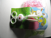 Dudley's Egg Tong Plus One Bag Pink Easter Grass