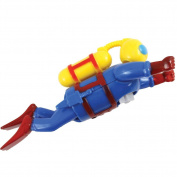 Wind Up Swimming Scuba Diver - 19cm Of Good Clean Fun For The Tub Or Pool