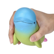 MM & I Squishy Toy Big Dolphin Squishy Scented Squishy Slow Rising Squeeze Toy Jumbo Collection