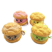 CYCTECH Stress Relief Toys Exquisite Puff Cream Squeezable Slow Rising Charm Kid Toy Gift