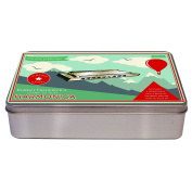 Robert Frederick Harmonica in A Flat Brushed Tin - Vintage Games, Assorted