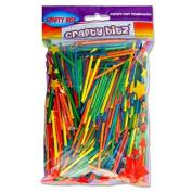 "Premier Stationery 75 g ""Crafty Bitz"" Coloured Matchsticks"