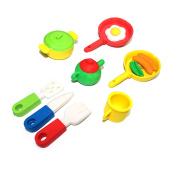 Kid's Novelty Build Erasers - Kitchen