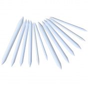 12pcs Paper Blending Stumps Tortillon Sketch Art Drawing Pens Tool White
