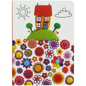 Robert Frederick A6 Cased Notebooks in CDU - Marzipan House & Flowers, Assorted