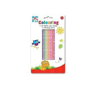 Anker Kids Create/Arts and Crafts 4 HB and 8 Colouring Pencils, Plastic, Assorted Colour, 29.7 x 21 x 2 cm