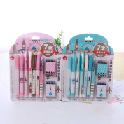 Holo Cute Cartoon Fountain Pen Business Office Gift Pen Student Stationery