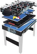 Hy-pro 0.9m 1 Multi Games Table Football Tennis Pool Hockey Kids Gaming Toy