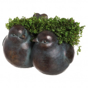 Evergreen Enterprises, Inc Sparrow Resin Statue Planter