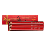 Viarco : Vintage Pencil : Red Box : Pack of 12 HB
