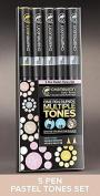 Chameleon Pens 5 Pack Set Pastel Tones