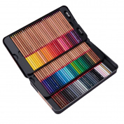 MEEDEN 100 Coloured Pencils with Tin Case for Adult Colouring Book