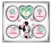 Valenti & co _ Photo Frame My Fist Year/My Family _ Silver _ Minnie Mouse _ Disney _ 26 x 22 cm