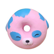 Soft Stress Reliever Toy, Wanshop® Lovely Doughnut Cream Scented Squishy Slow Rising Squeeze Toys Collection Cute Animal Home Décor Kid Gift