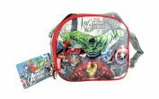 Marvel Avengers Assemble Hulk, Iron Man, Thor & Captain America Insulated Lunch Bag