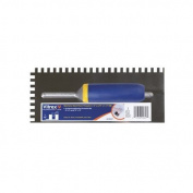 Vitrex A09627 Square Notch Trowel 10cm - 1.3cm x 28cm , Stainless Steel