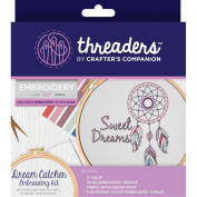 Crafter's Companion Threaders Embroidery Craft Gift Kit - Dream Catcher