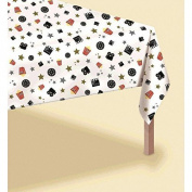 """Movie Night Hollywood Themed Party Table Cover Tableware, Plastic, 102 x 54"""""""